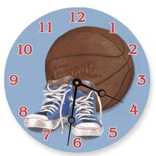 "18"" Hoops Wall Clock"