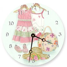 Week-End At Grandma's Round Clock