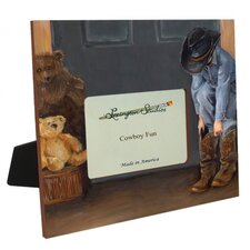 Cowboy Fun Picture Frame