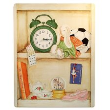 Nichole's Favorite Things Large Wall Clock