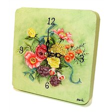 Home and Garden Bouquet Tiny Times Clock