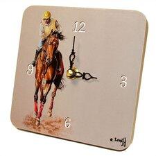 Sports Jockey Tiny Times Clock