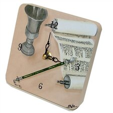 Judaica Mitzvah Tiny Times Clock