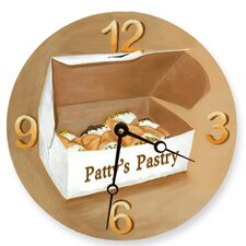 "10"" Cannoli's Wall Clock"