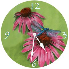 "<strong>Lexington Studios</strong> 10"" Dragonfly Wall Clock"