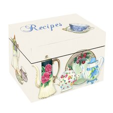 China Tea Recipe Box