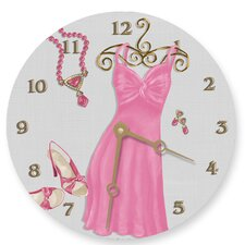 "<strong>Lexington Studios</strong> Night on the Town 10"" Wall Clock"