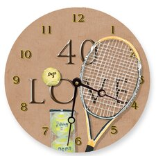 "10"" 40 Love Wall Clock"