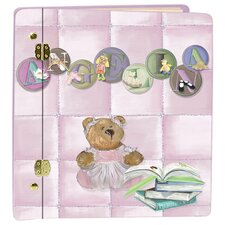 Little Girl Letters Book Album