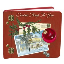 Christmas Through the Years Book Mini Album