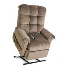 Elegance Collection Medium 3-Position Lift Chair with Biscuit Back - Quick Ship