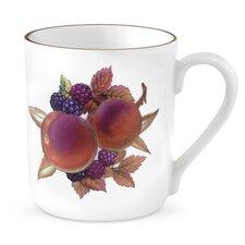 Evesham Gold 12 oz. Peach and Blackberry Mugs (Set of 4)
