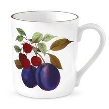 Evesham Gold 12 oz. Plum and Cherry Mugs (Set of 4)