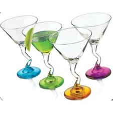 Libbey Funky Cocktails-Z Stem Cocktail (4 Asst Colours)