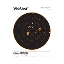 100 Yard Sight In Visicolor Target (Pack of 10)