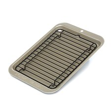 Compact Ovenware 2 Piece Broiler Set