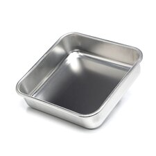 "Natural Commercial 9.5"" Square Cake Pan"