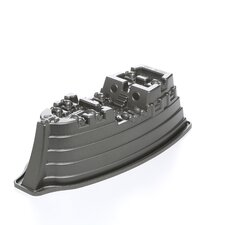 Platinum Pirate Ship Cake Pan
