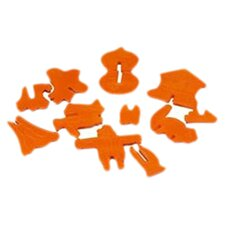 Kitchenware Halloween 3-D Cookie Cutter Set
