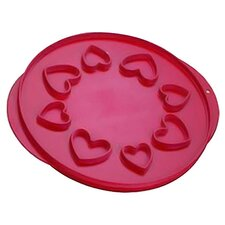 Lattice and Hearts Pie Top Cutter