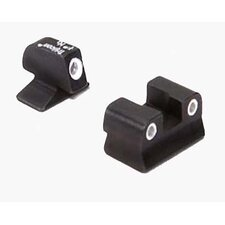 3 Dot Green Front and Rear Night Sight Set