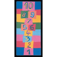 <strong>Learning Carpets</strong> Hip Hop Hopscotch Kids Rug