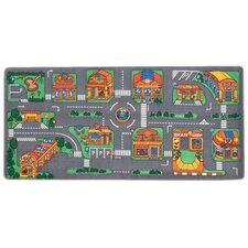 <strong>Learning Carpets</strong> Play Carpet Let's Go Shopping Kids Rug