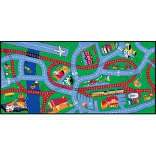 Highways and Byways Kids Rug