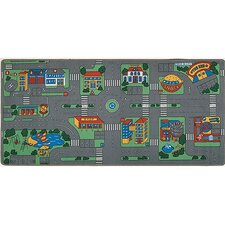 <strong>Learning Carpets</strong> City Play Kids Rug