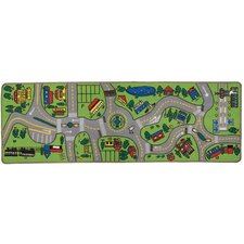 <strong>Learning Carpets</strong> Giant Road Play Kids Rug