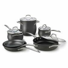 <strong>Calphalon</strong> Unison Nonstick 10-Piece Cookware Set