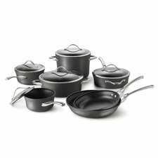 <strong>Calphalon</strong> Contemporary Nonstick 12-Piece Cookware Set
