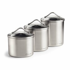 Oval Canister 3-Piece Set