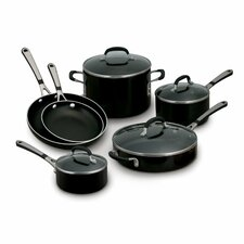 <strong>Calphalon</strong> Simply Enamel 10-Piece Cookware Set