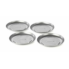 Nonstick 4-Piece Mini Pizza Pan Set