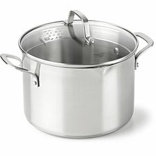 <strong>Calphalon</strong> Stainless Steel Stock Pot