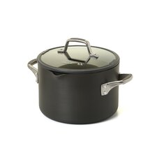 Easy System Nonstick 6-qt. Stock Pot with Lid