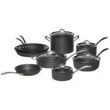 Commercial Hard-Anodized 13 Piece Cookware Set