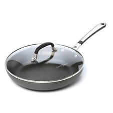 <strong>Calphalon</strong> Simply Nonstick Omelette Pan with Lid