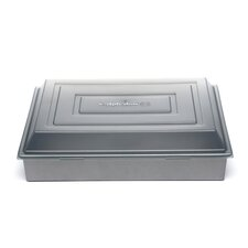 "Nonstick 9"" x 13"" Covered Cake Pan"