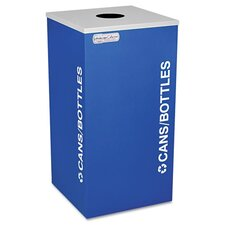 <strong>Ex-Cell</strong> Kaleidoscope Collection Recycling Receptacle, 24 Gal