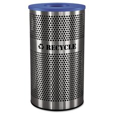 <strong>Ex-Cell</strong> Stainless Steel Recycle Receptacle