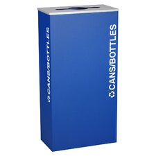 Kaleidoscope XL Series Indoor 17 Gallon Industrial Recycling Bin