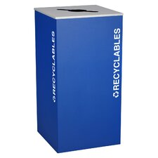 Kaleidoscope XL Series Indoor 36 Gallon Industrial Recycling Bin