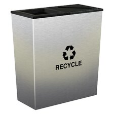 Metro Indoor 18 Gallon Multi Compartment Recycling Bin