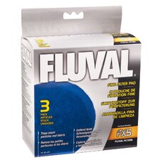 Fluval Fine Filter Pad for Fluval FX5 (3 Pack)