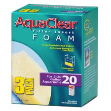 AquaClear Foam Filter Insert (3 Pack)