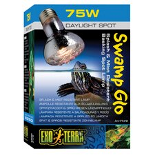 Exo Terra Swamp Glo Splash and Mist Resistant Basking Spot Lamp