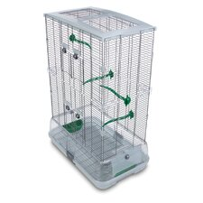 Double Vision  Bird Cage with Small Wire
