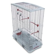Double Medium Vision  Bird Cage with Small Wire